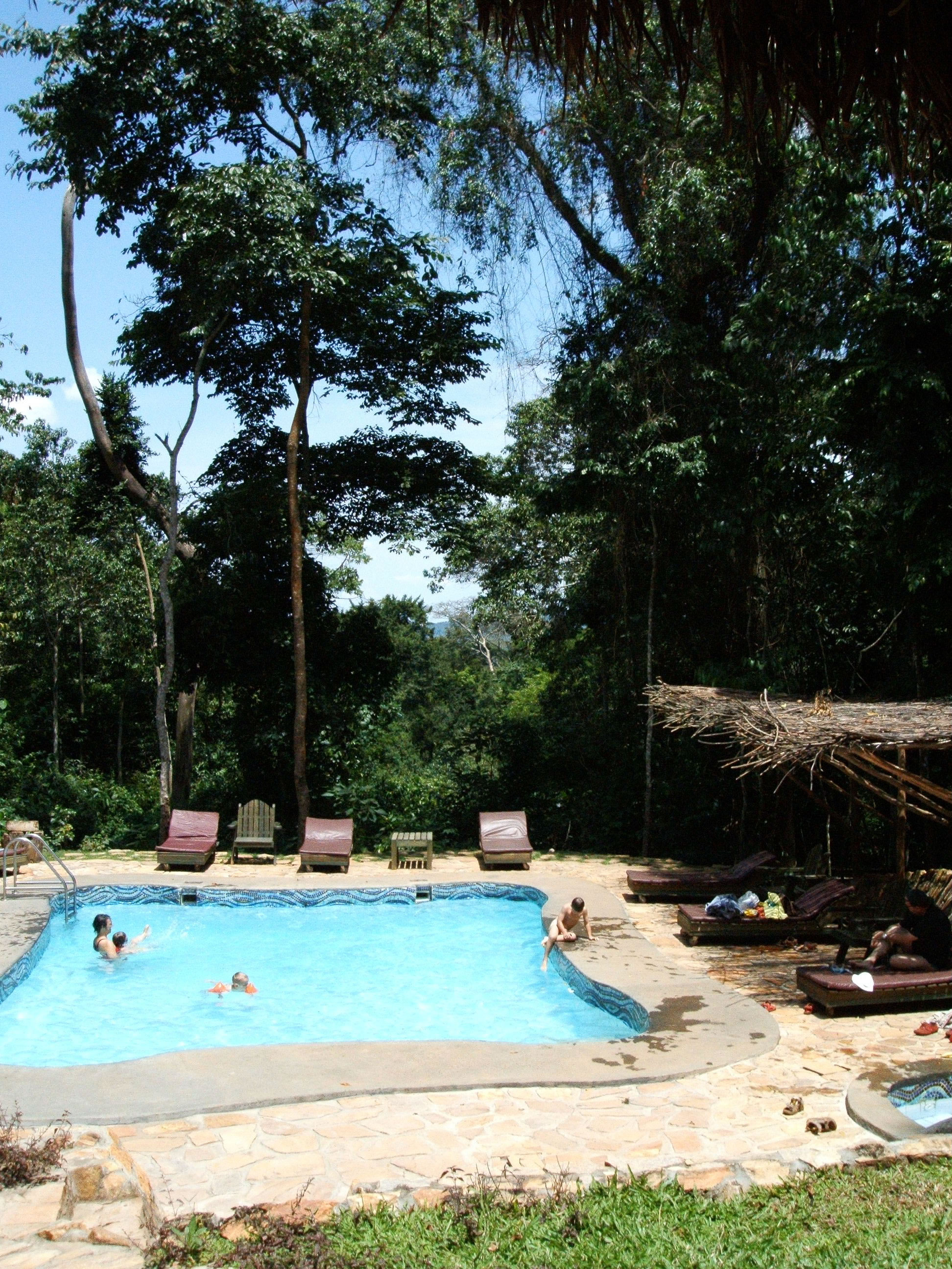 Mabira Rain Forest Resort Pool